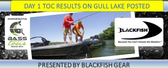 Gull Lake Day 1 Results Posted