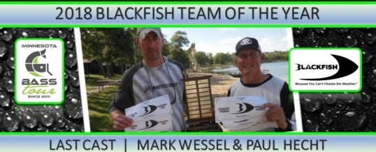 Last Cast Wins 2018 Team of Year!