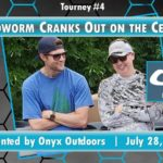 Roboworm Cranks It Out on The Centers!